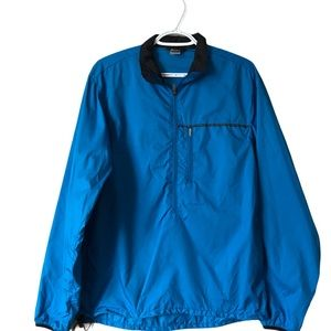 MEC | 1/2 zip windbreaker jacket